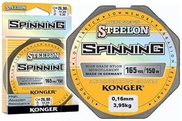 Konger STEELON - Hilo de pesca (fluorocarbono, 0,12-0,30 mm ...