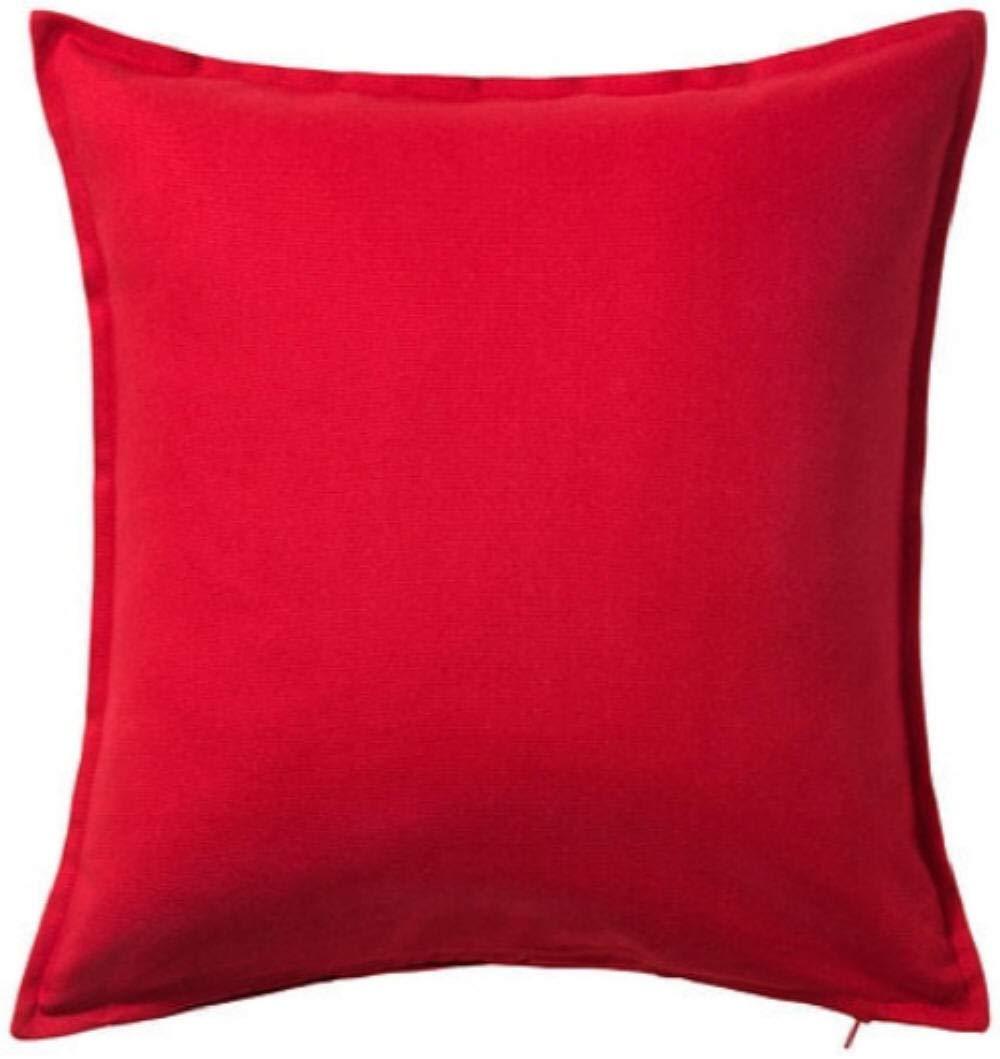 IKEA Gurli - Funda de cojín, rojo - 50x50 cm