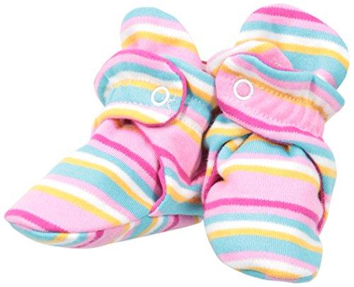 (Zutano Baby Girls' Ellas Elephants Bootie, Hot Pink, 18 Months)