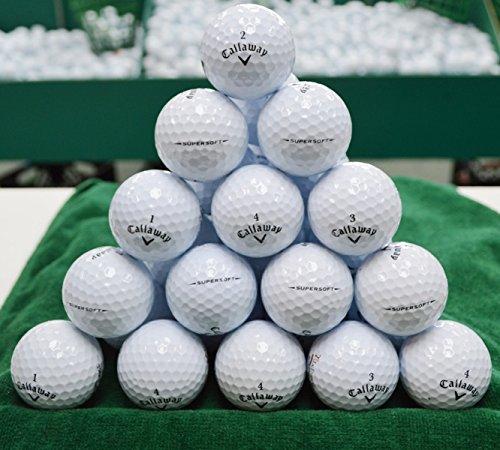 60 Callaway Supersoft 4a Grade Golf Balls
