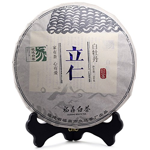 Lida 357g 2016yr Li Ren Bai Mu Dan White Tea Cake Fat Reducing Tea China Tea by Lida