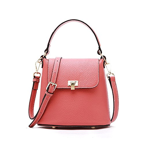 Rosa Handbag Asdflina per Retro Adatto Variety l'uso nero Cube a Messenger Borsa solidi tracolla Colori quotidiano Simple Wild Portable colore qEExwr6H