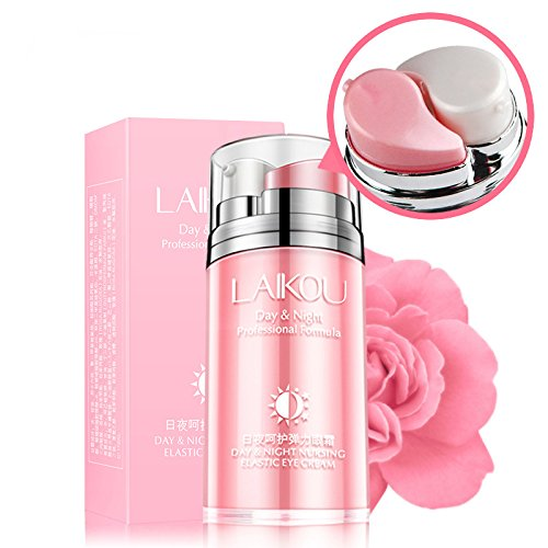 Thinkmax Day & Night Roses Extracts Eye Essence Face Cream Anti-puff Darkness Anti Wrinkles Moisturizing Firmer Lifting Eye Skin Care