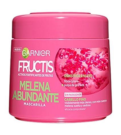 Garnier Fructis Mascarilla Melena Abundante - 300 ml