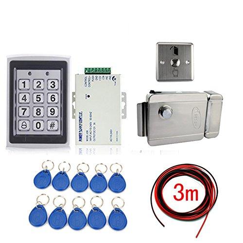 Ennio Nueva tarjeta de RFID Tarjetas de control de acceso kit + cerradura electrónica + 10