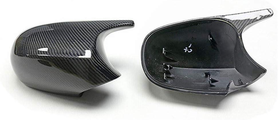 pour BMW s/érie 3 E90 E91 E92 E93 M3 Style 1 s/érie E81 E82 E87 E88 WHJIXC Capot de Couvercle de r/étroviseur lat/éral de Voiture ABS en Fibre de Carbone