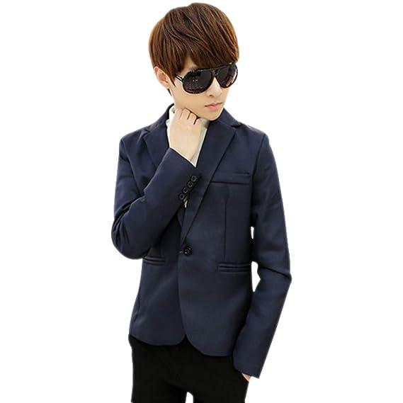 XFentech Hombres Mantener Caliente Blazer - Hombre Blazer Elegante Oficina Traje de Chaqueta Outwear Casual: Amazon.es: Ropa y accesorios