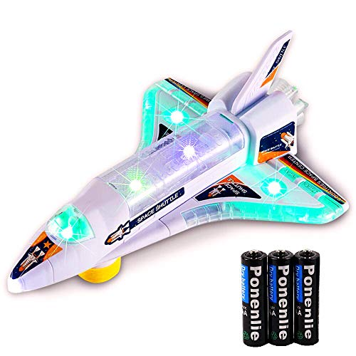 DeVan Bump and Go Electric Space Shuttle