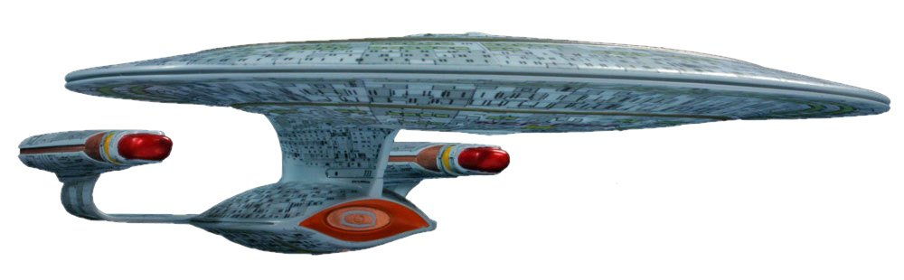 Round 2 AMT Star Trek Enterprise 1701-D 1:2500 (Discontinued by  manufacturer)