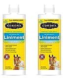 Manna Pro Corona Topical Analgesic Veterinary Liniment 16oz (Formerly Horseman's Dream Vet Liniment) (2 Pack - 16 oz)
