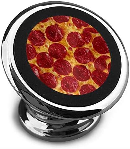 おいしいピザ 携帯電話ホルダー おしゃれ 車載ホルダー 人気 磁気ホルダー 大きな吸引力 サポートフレーム 落下防止 360度回転