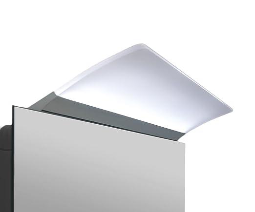 4 opinioni per Lampada LED per lo specchio del bagno Angela, L500mm 6000°k 748 lumen, con parte