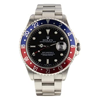 Amazon Com Rolex Gmt Master Ii Automatic Male Watch 16710