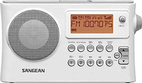 Sangean All in One Portable Digital AM/FM Alarm Clock Rad...