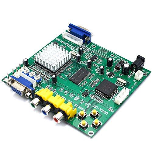 Amatek Arcade game RGB/CGA/EGA/YUV to VGA HD video converter board 1 VGA output