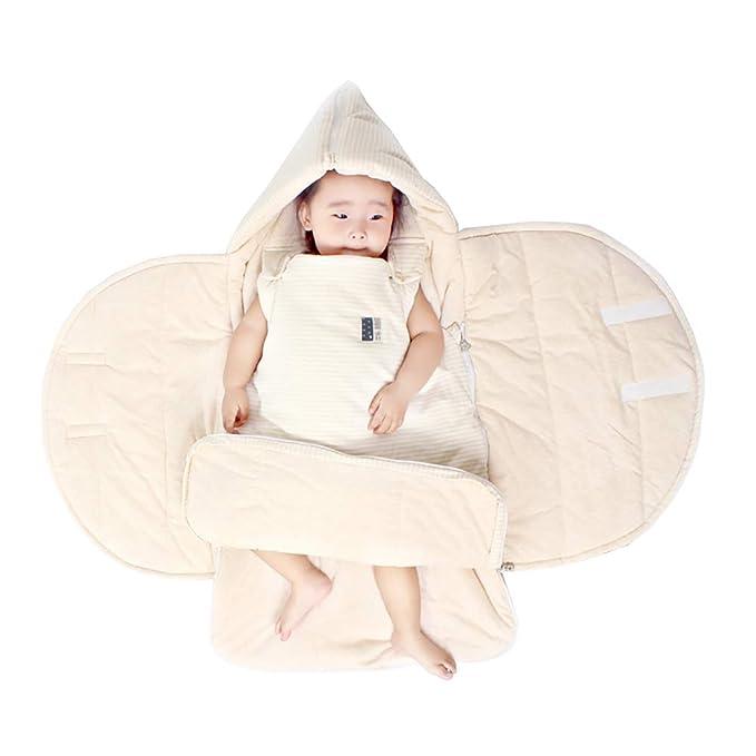 Rufun Saco de Dormir para Bebés Nacido Manta Caliente Anti-Patada ...
