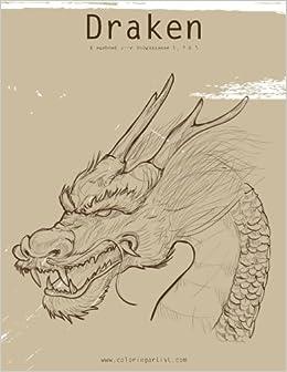 Kleurplaten Volwassenen Draken.Amazon Com Draken Kleurboek Voor Volwassenen 1 2 3 Dutch