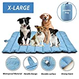 """furrybaby Portable Waterproof Travel Pet Bed Mats for Cats&Puppy Dog Mattress Pad Mat Cushion for Indoor Outdoor Use X Large (57×35"""")"""