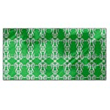 Mirror Swirls Rectangle Tablecloth: Large Dining Room Kitchen Woven Polyester Custom Print
