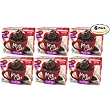 Betty Crocker Baking Mug Cake, Ready in about 1 MIN - Hot Fudge Double Chocolate Brownie with Fudge Topping - 294 Gm (3 Servings) x Pack of 6