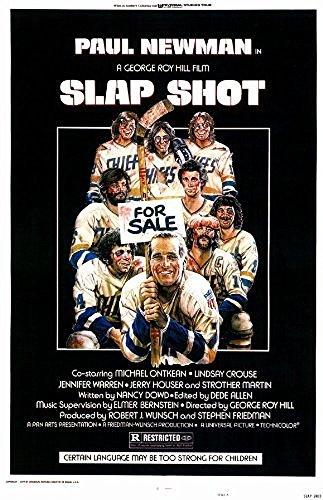 Slap Shot POSTER Movie (28cm x 44cm) (1977) by DIY JR Pillows396