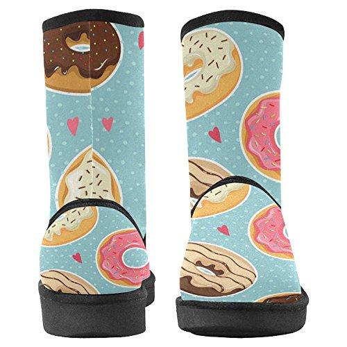 InterestPrint Womens Snow Boots Unique Designed Comfort Winter Boots Multi 21 0eVLm9E