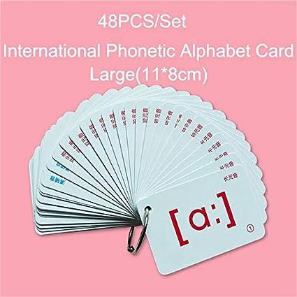 ABC Flash Cards - Juego de 48 tarjetas de alfabeto para niños ...