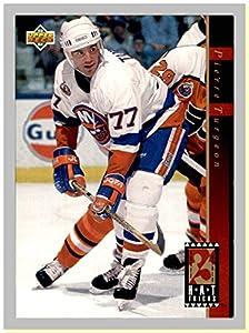 1993-94 Upper Deck Hat Tricks #HT11 Pierre Turgeon NEW YORK ISLANDERS