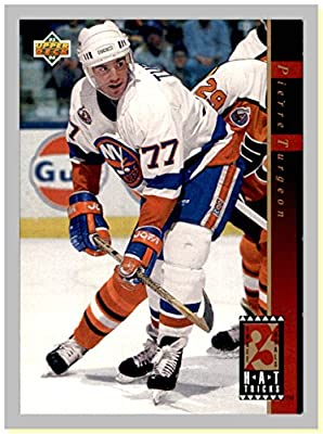 1993-94 Upper Deck Hat Tricks #HT11 Pierre Turgeon NEW YORK ISLANDERS