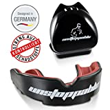 Unstoppable Sports Mouth Guard/Gum Shield | + Case + max.o2 + BPA Free | for Boxing, MMA, Rugby, Kickboxing, Muay Thai, Hockey, Judo, Karate, Martial Arts