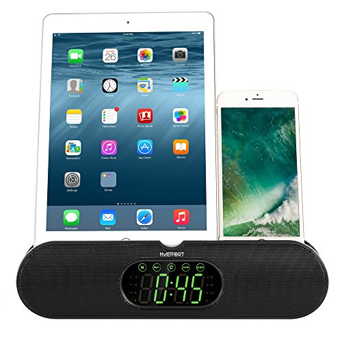 Maeffort Portable Wireless Bluetooth Speakers 4.0 Stand Design with Touch Buttons,HD Sound and Bass,Stereo Pairing,For iPhone /iPod/iPad/Phones/Tablet/Echo dot,Good Gift.