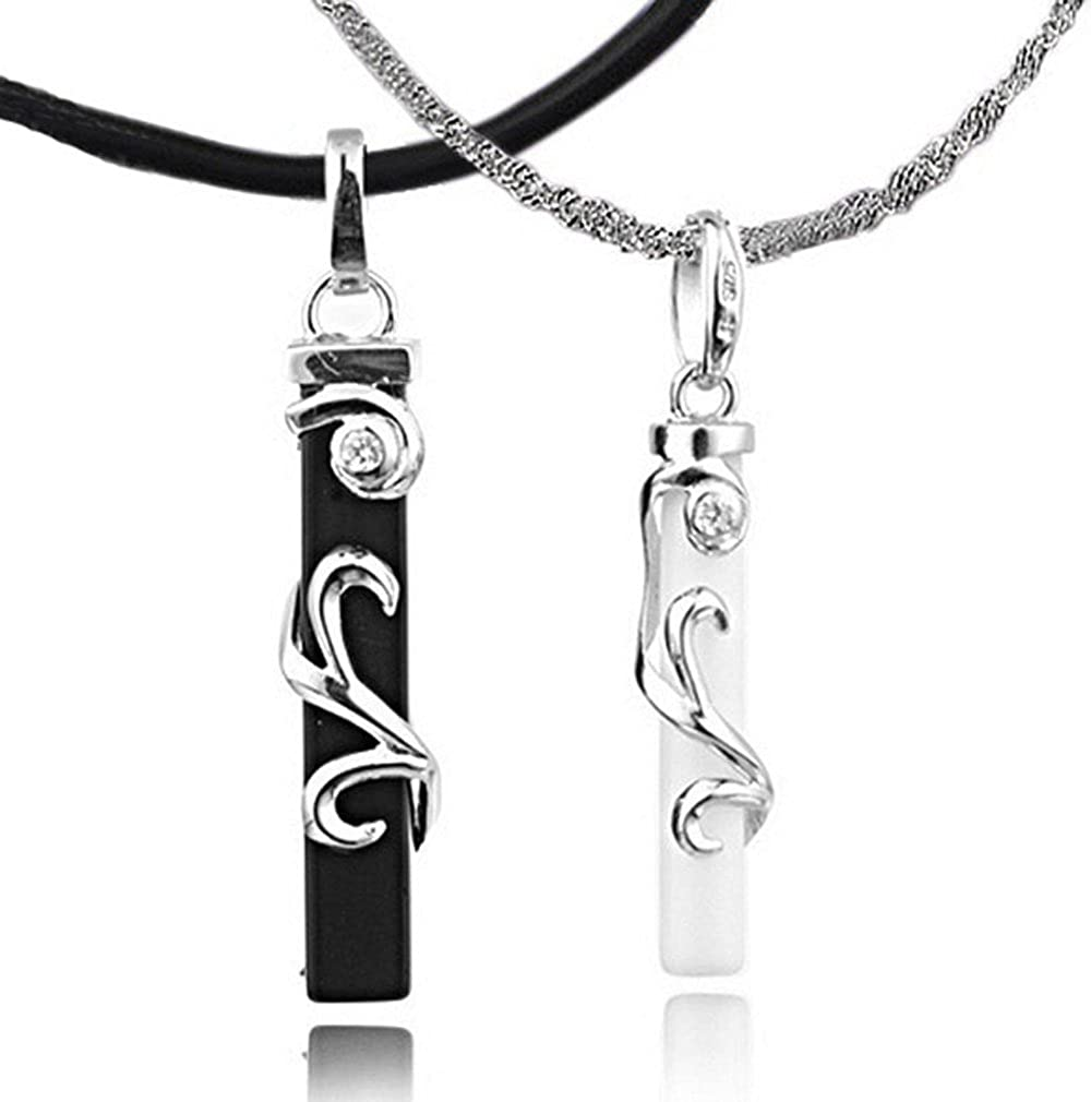 Amazon.com: Infinite Joy Sterling Silver Couple Heart His and Hers ...