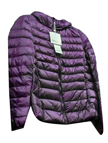 Puffer Outwear Winter Packable M 9 Hooded Women's amp;W Light amp;S Down L wxn0nzgq