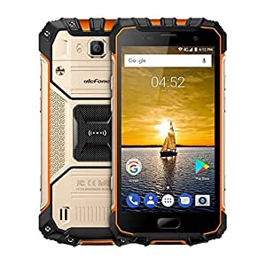 Smartphone Unlocked, iGrace Ulefone Armor 2 Triple Proofing Phone 6GB+64GB 5.0 inch Sharp Android 7.0 MTK Helio P25 Octa Core 64-bit up to 2.6GHz WCDMA & GSM & FDD-LTE