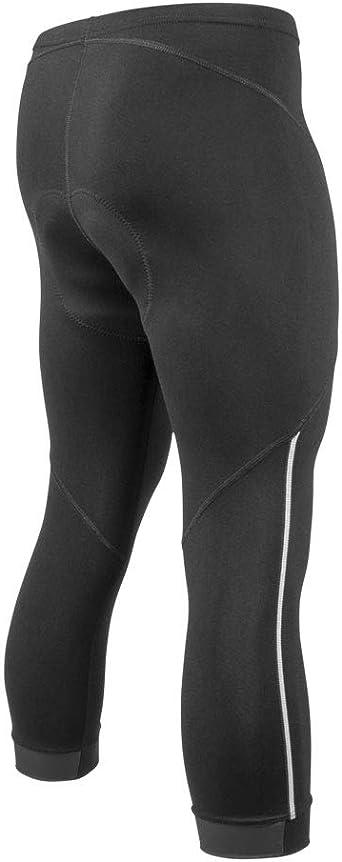Black Bicycle Cycle Long Pants Men/'s Padded Cycling Biking Tights Pants S-5XL