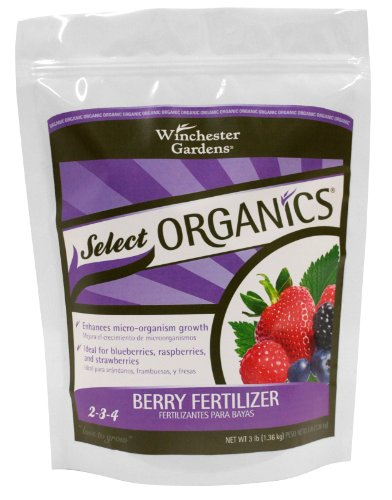 Organic Soil Fertilizers (Winchester Gardens Select Organics Berry Granular Fertilizer, 3-Pound Bag)