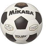 ミカサ サッカーボール5号検定球 手縫い 亀甲型 白/黒 SVC50VL-WBK