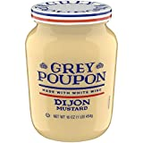 Grey Poupon Dijon Mustard, 16 ounce Jar