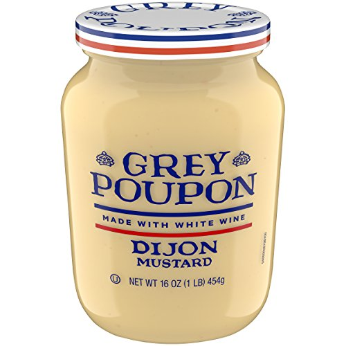 - Grey Poupon Dijon Mustard, 16.0 oz Jar