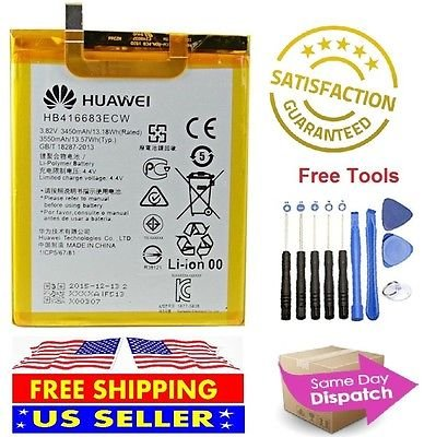 Price comparison product image Google Huawei Nexus 6P Replacement Battery HB416683ECW 3450mAh + TOOL