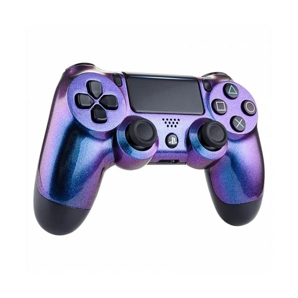 OC Gaming PS4 Dualshock Playstation 4 Controller Custom Soft Touch New Model JDM-040 (Chameleon) 2