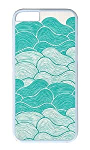 Apple Iphone 6 Case,WENJORS Awesome The Calm and Stormy Seas Hard Case Protective Shell Cell Phone Cover For Apple Iphone 6 (4.7 Inch) - PC White