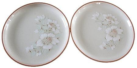2 Denby Daybreak Dinner Plates  sc 1 st  Amazon UK & 2 Denby Daybreak Dinner Plates: Amazon.co.uk: Kitchen u0026 Home