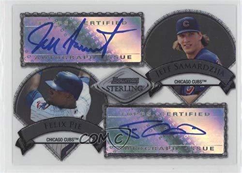 Felix Pie; Jeff Samardzija #267/275 (Baseball Card) 2007 Bowman Sterling - Dual Autographs - [Autographed] #BSDA-PS