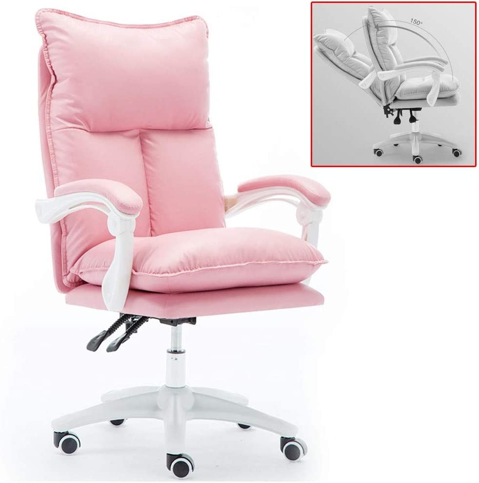 Amazon.com: Computer chair Chairs Office Leather Chair Student