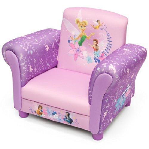 Disney Fairies Armlehne Stuhl mit Holz Innenteil Einzelsofa Kindersofa Sitzplatz Sessel NEU Delta Children' s Products