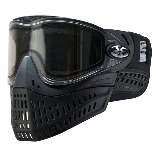 Empire Paintball E-Flex Goggle, Black (Jt Black Thermal Paintball Mask)