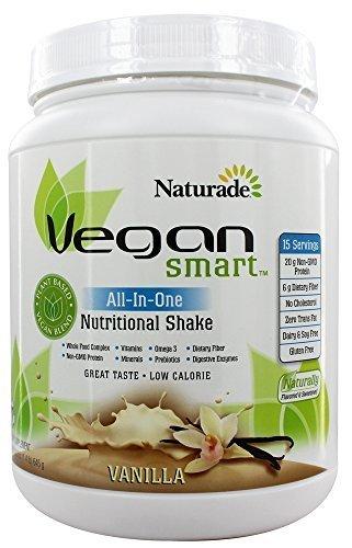 Naturade Vegansmart All-in-one Nutritional Shake, Vanilla, 645g/22.8 Oz Review