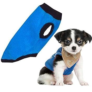 Talla XXS Forro Polar abrigo de invierno para perros, invierno Perros abrigo/Chaqueta: Amazon.es: Productos para mascotas