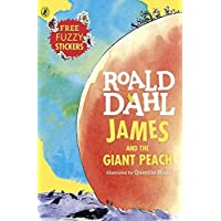 James and the Giant Peach by Roald Dahl - Paperback